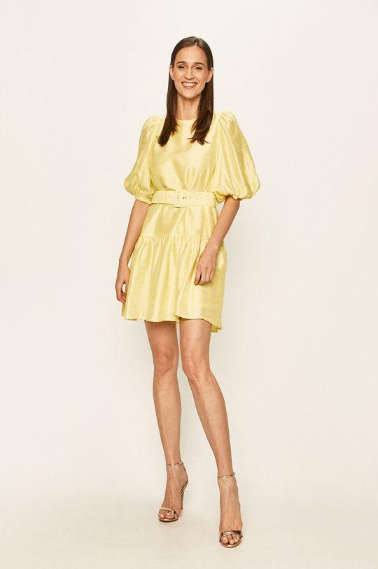 Vero Moda - Sukienka jasny żółty