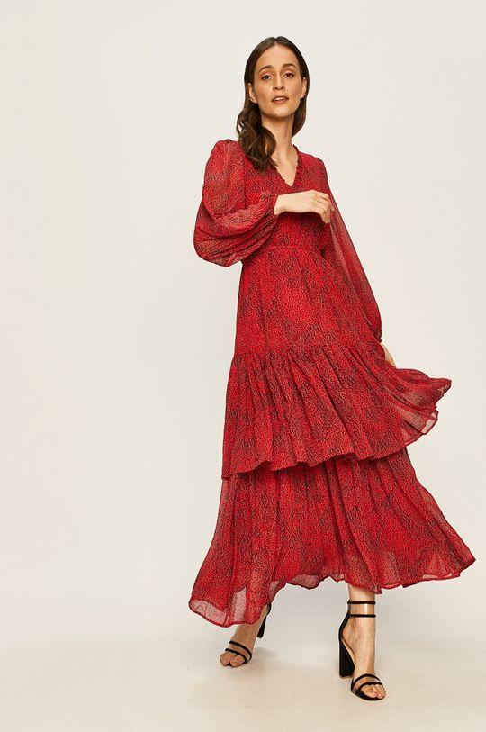 Vero Moda - Sukienka/tunika 10232330 ostry czerwony