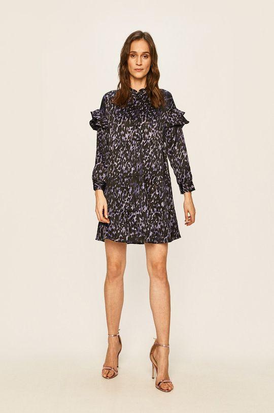 Vero Moda - Sukienka fioletowy