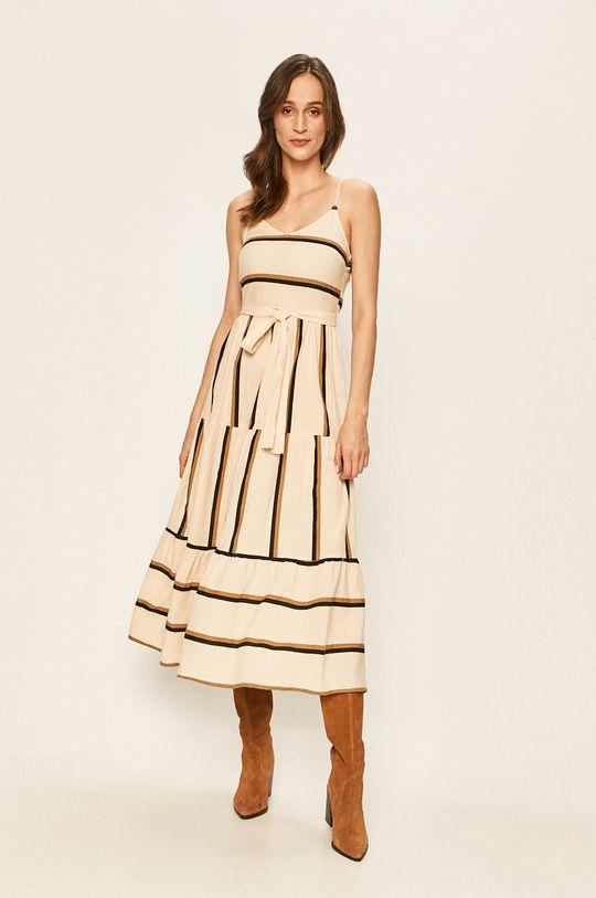 pszeniczny Vero Moda - Sukienka Damski