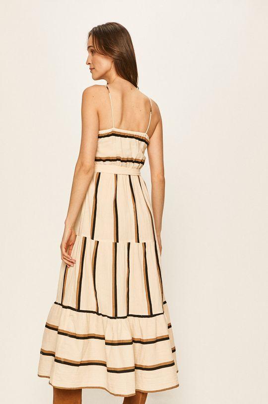 Vero Moda - Sukienka pszeniczny