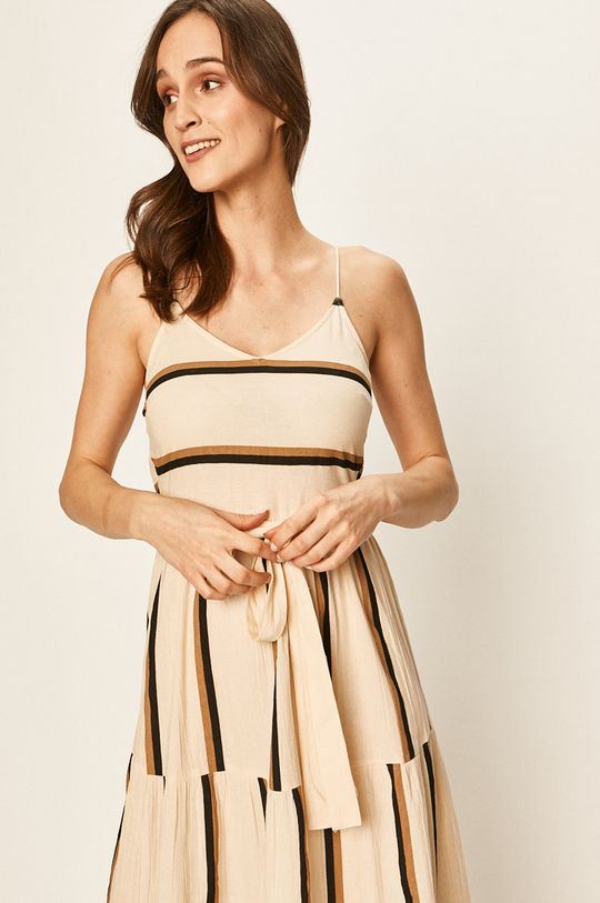 pszeniczny Vero Moda - Sukienka
