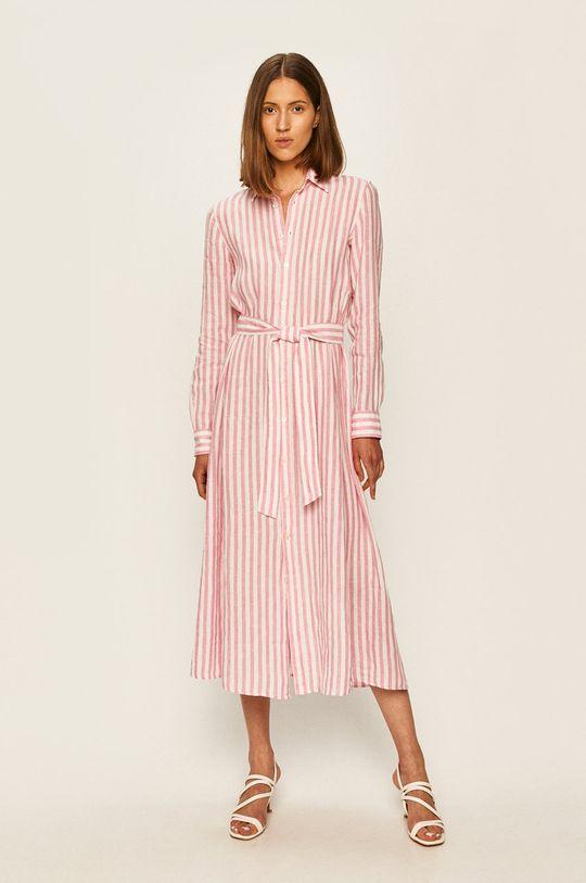 růžová Polo Ralph Lauren - Šaty Dámský