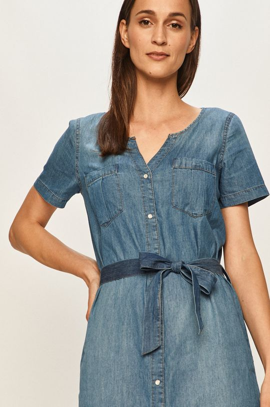 niebieski Jacqueline de Yong - Sukienka jeansowa