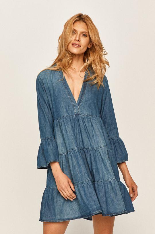 modrá Jacqueline de Yong - Rifľové šaty Dámsky