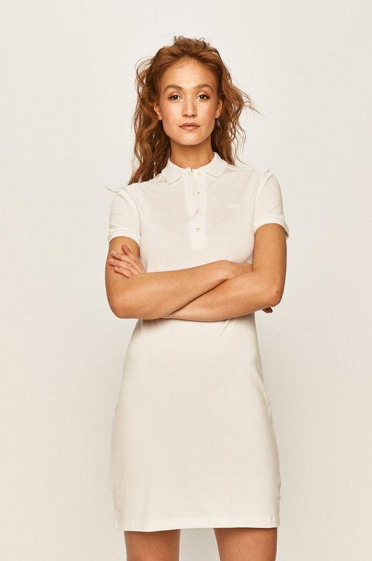 biały Lacoste - Sukienka Damski