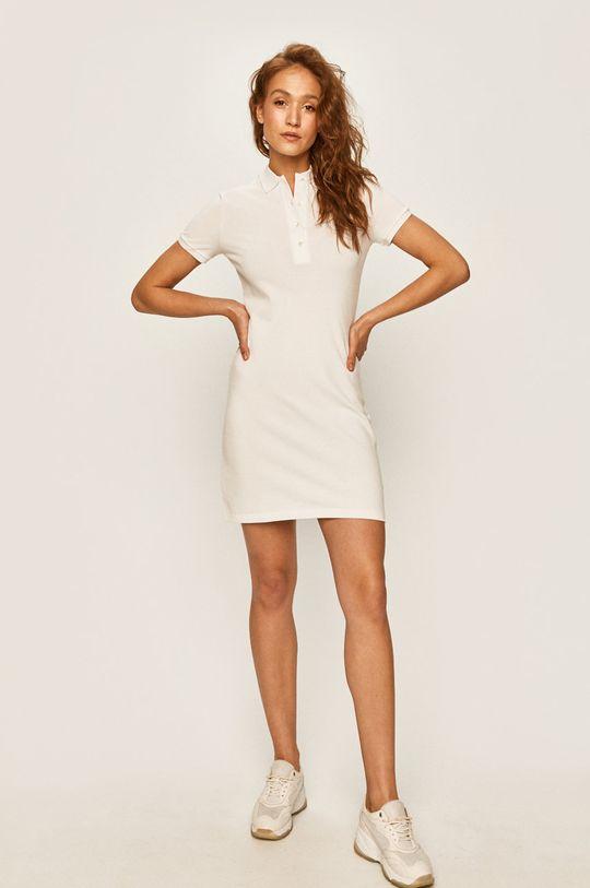 Lacoste - Sukienka biały