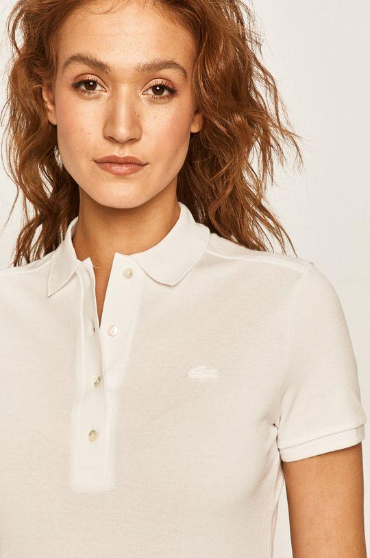 biały Lacoste - Sukienka