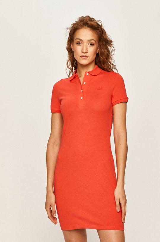 červená Lacoste - Šaty Dámsky