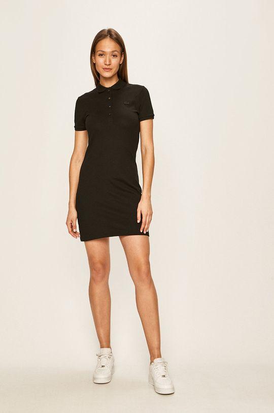 Lacoste - Sukienka czarny
