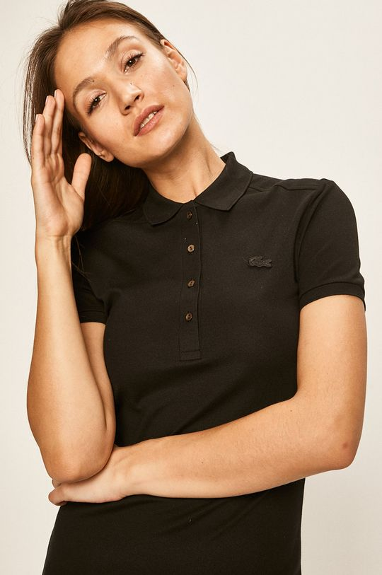 czarny Lacoste - Sukienka