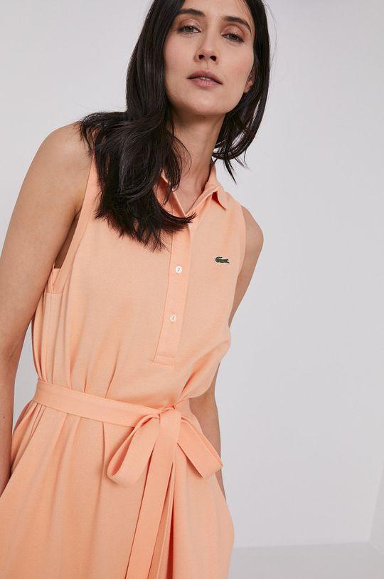 broskvová Lacoste - Šaty