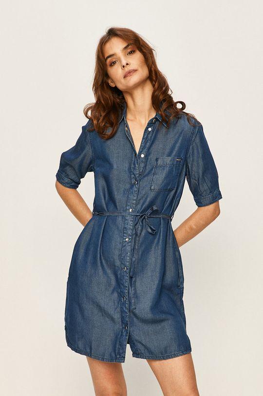albastru Pepe Jeans - Rochie Gloss De femei