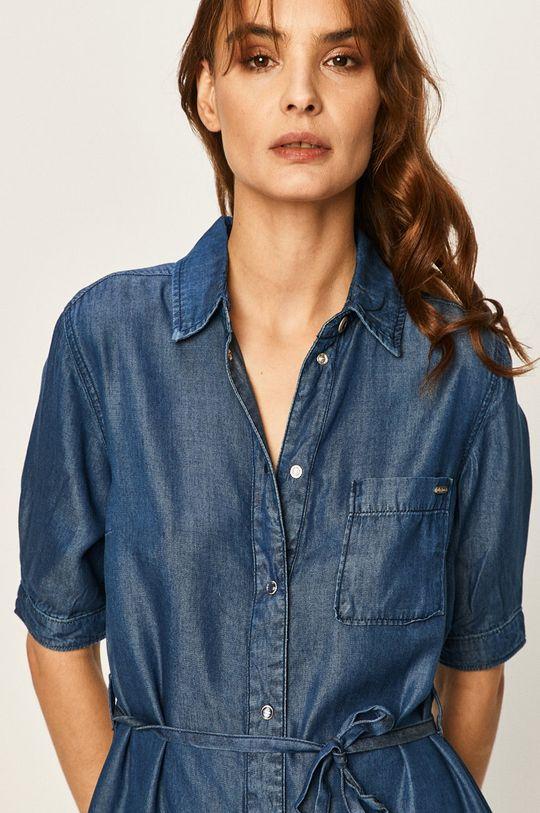 modrá Pepe Jeans - Šaty Gloss