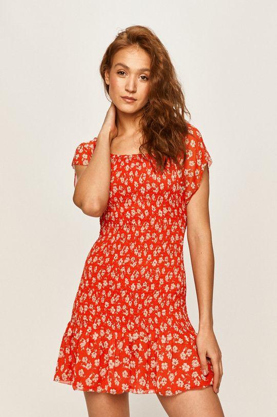 czerwony Pepe Jeans - Sukienka Marinis Damski