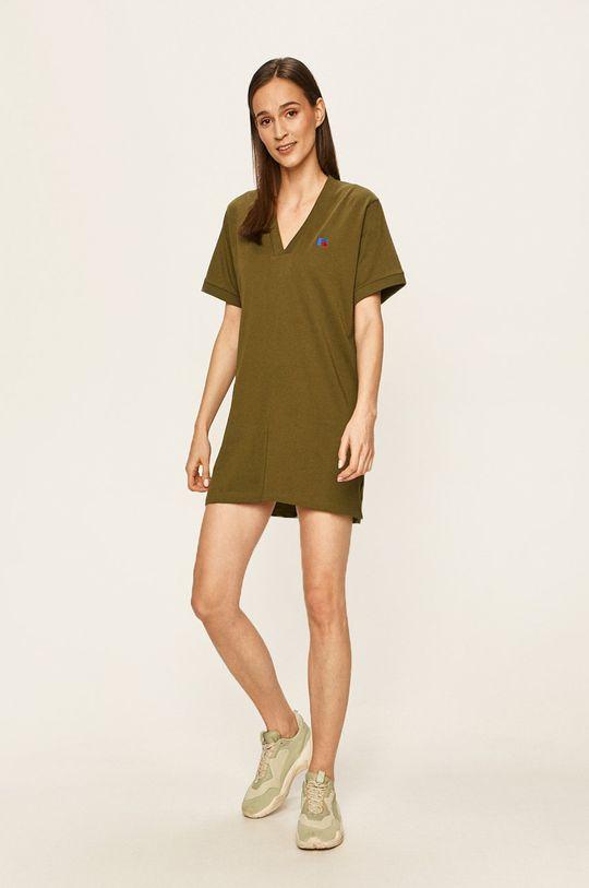 Russell Athletic - Šaty olivová