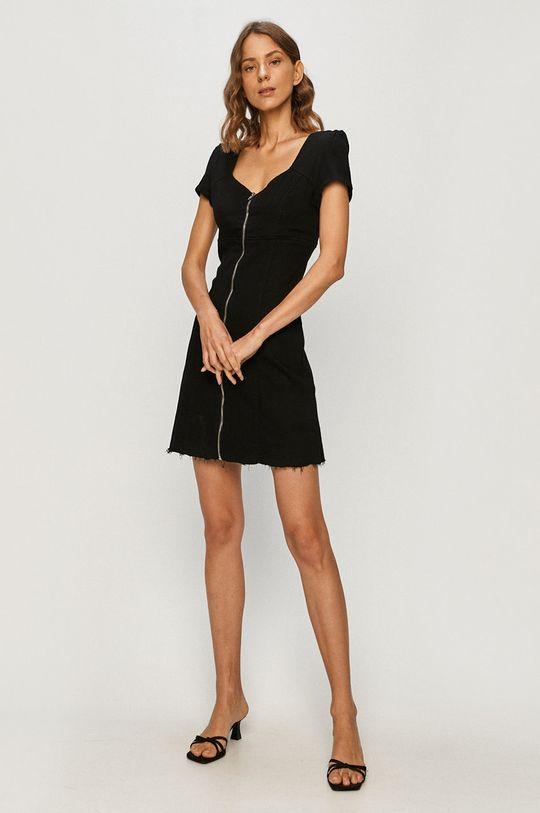 Tally Weijl - Джинсова сукня чорний
