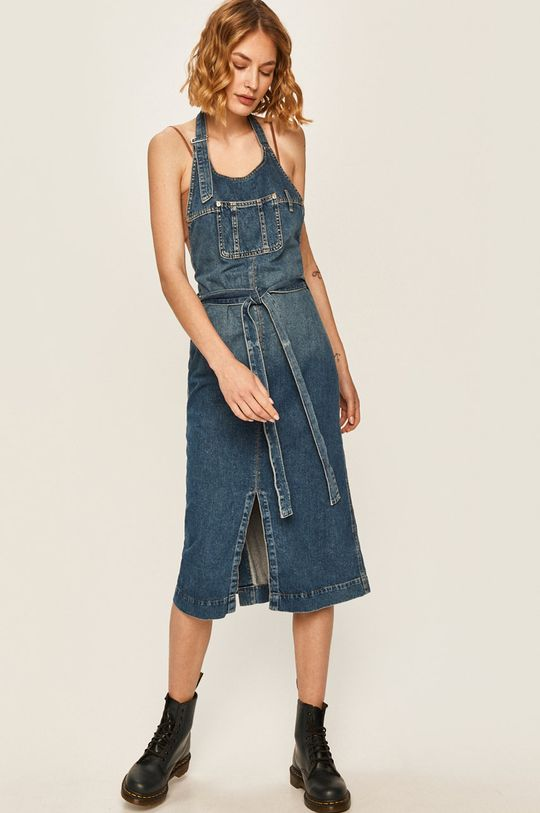modrá Pepe Jeans - Džínové šaty Kate x Dua Lipa Dámský