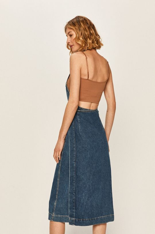 Pepe Jeans - Džínové šaty Kate x Dua Lipa  100% Bavlna