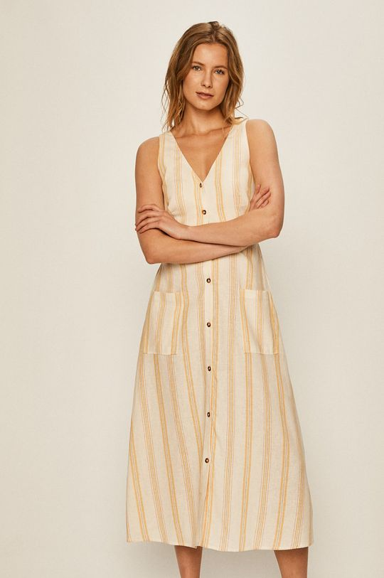 Pepe Jeans - Rochie Sara  55% Bumbac, 45% In