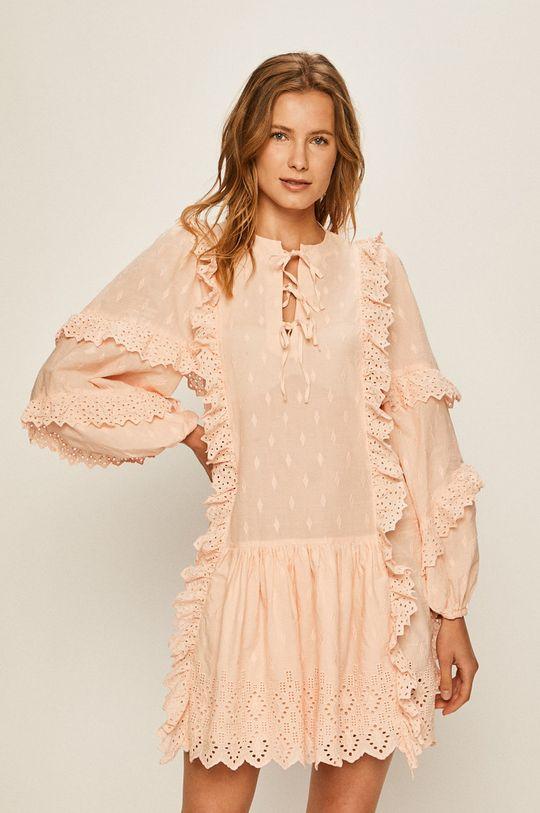 roz murdar Pepe Jeans - Rochie Zephyr De femei