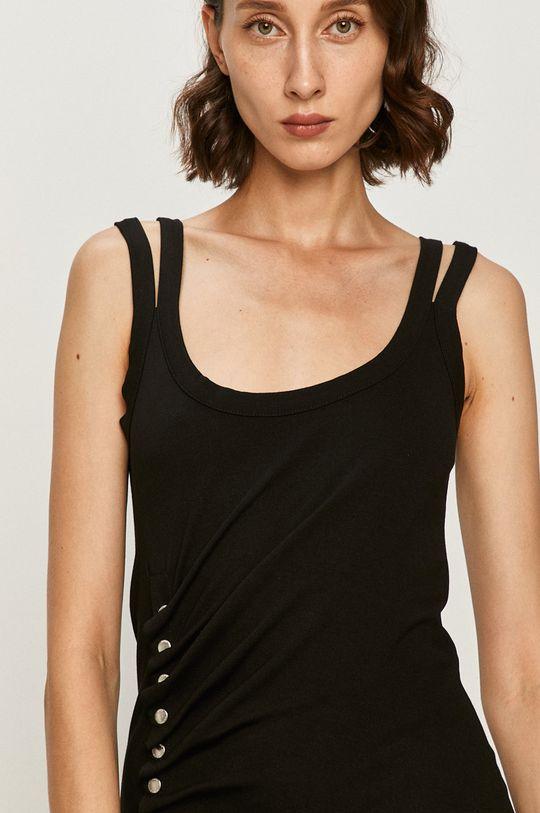 černá AllSaints - Šaty Hatti