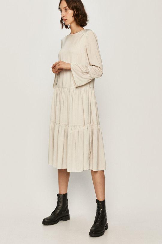 AllSaints - Sukienka biały