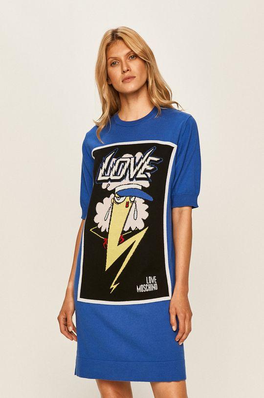 блакитний Love Moschino - Сукня Жіночий