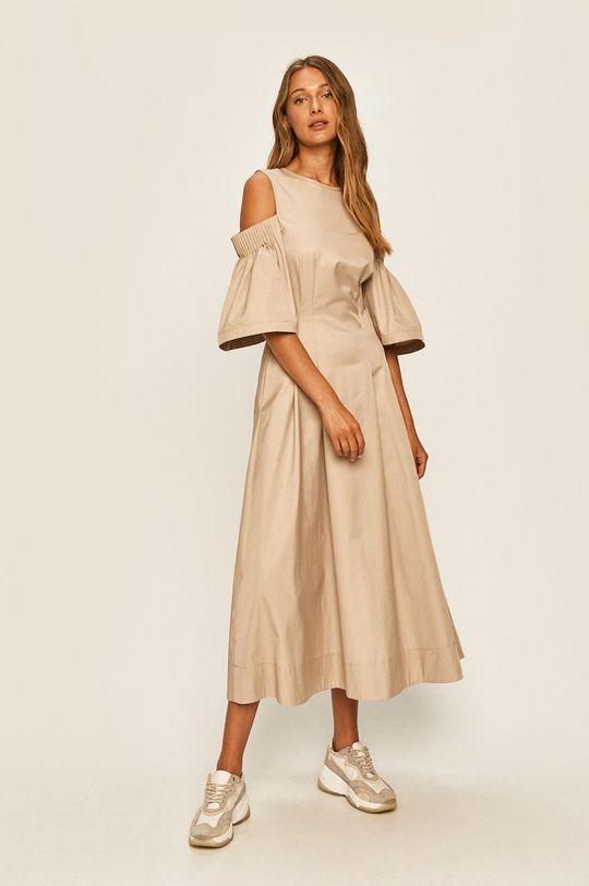 Karl Lagerfeld - Šaty písková