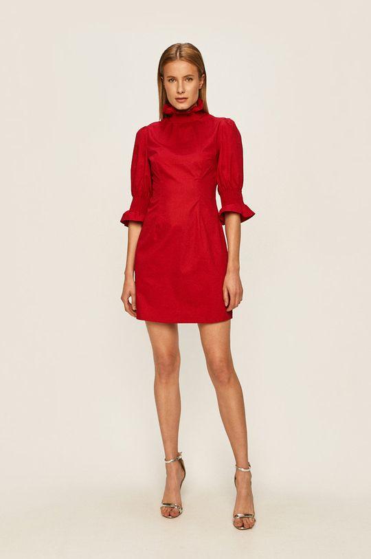 Glamorous - Šaty ostrá červená