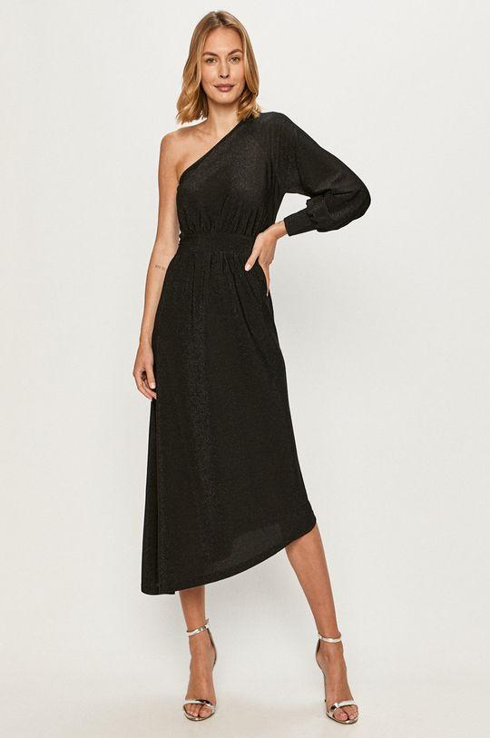 Only - Sukienka 5 % Elastan, 77 % Poliester, 18 % Włókno metaliczne