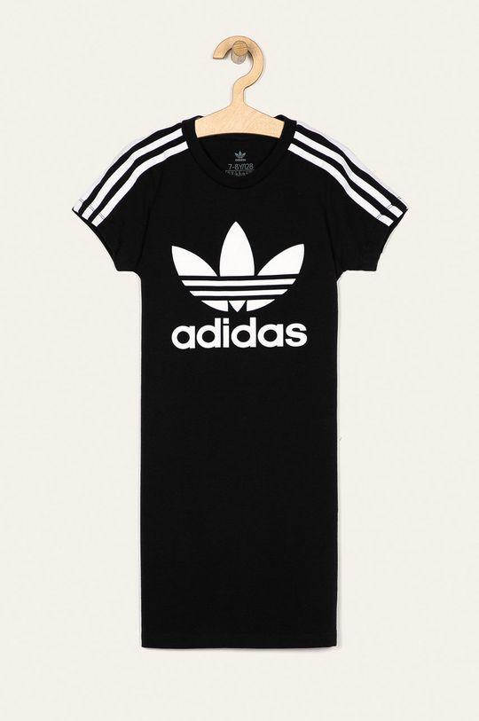 czarny adidas Originals - Sukienka dziecięca 128-170 cm Dziewczęcy
