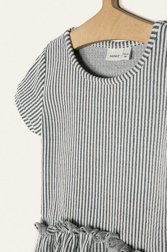 Name it - Dívčí šaty 92-116 cm 40% Bavlna, 7% Elastan, 53% Polyester