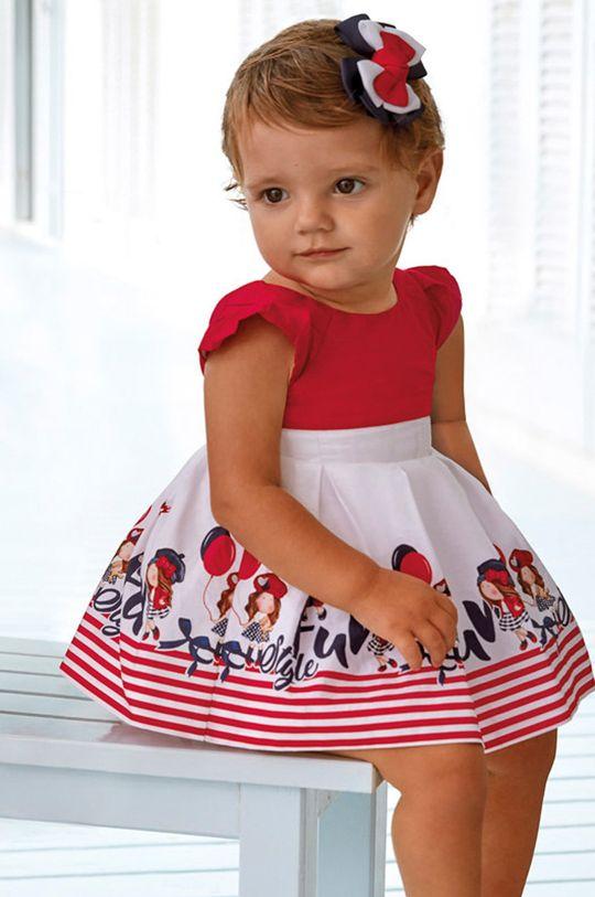 červená Mayoral - Dievčenské šaty 80-98 cm Dievčenský