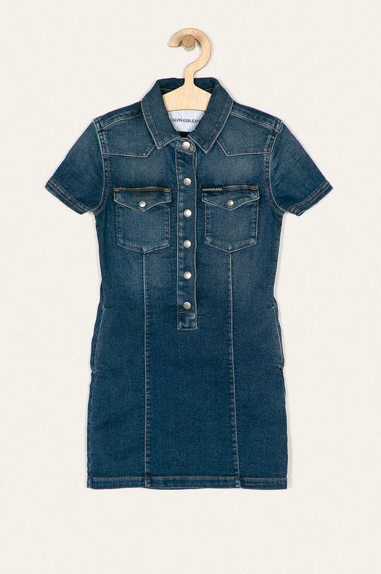 modrá Calvin Klein Jeans - Dívčí šaty 116-176 cm Dívčí