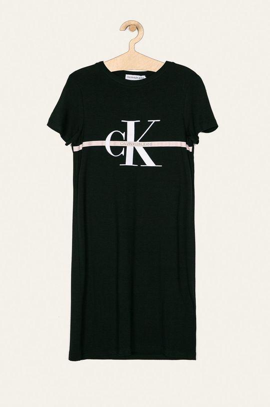 negru Calvin Klein Jeans - Rochie fete 116-176 cm De fete