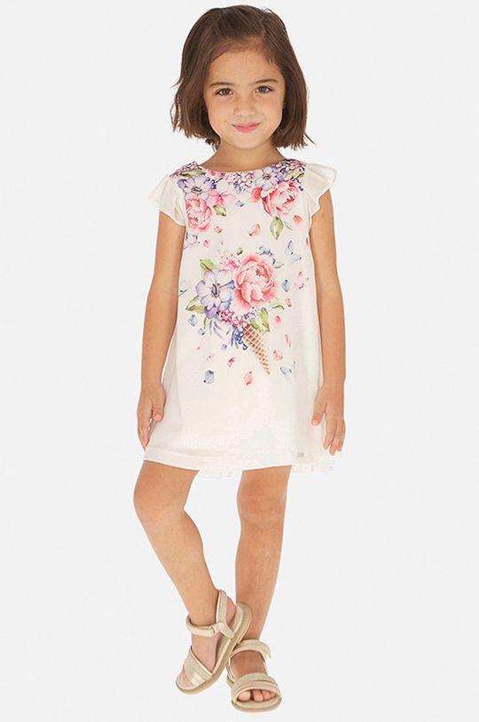 розов Mayoral - Детска рокля 92-134 cm Момиче