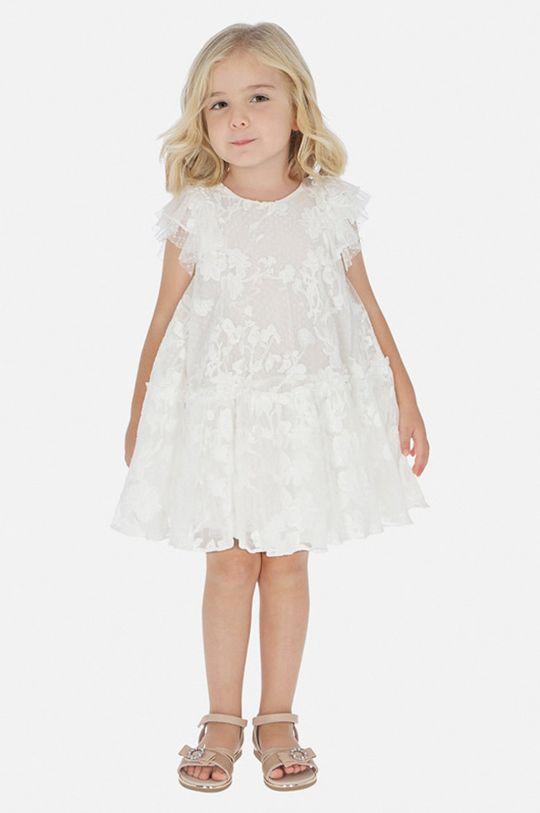 krémová Mayoral - Dievčenské šaty 92-134 cm Dievčenský