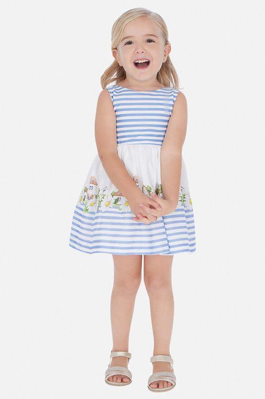 светлосин Mayoral - Детска рокля 92-134 cm Момиче