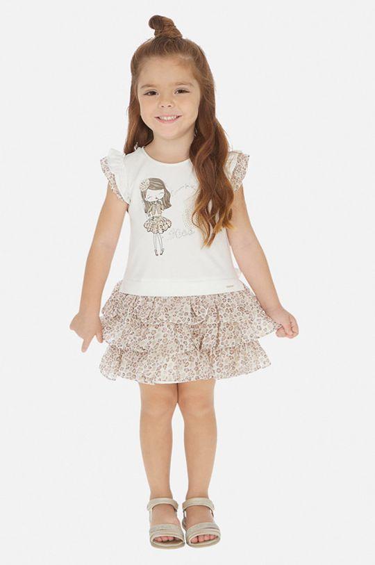 béžová Mayoral - Dievčenské šaty 92-134 cm Dievčenský
