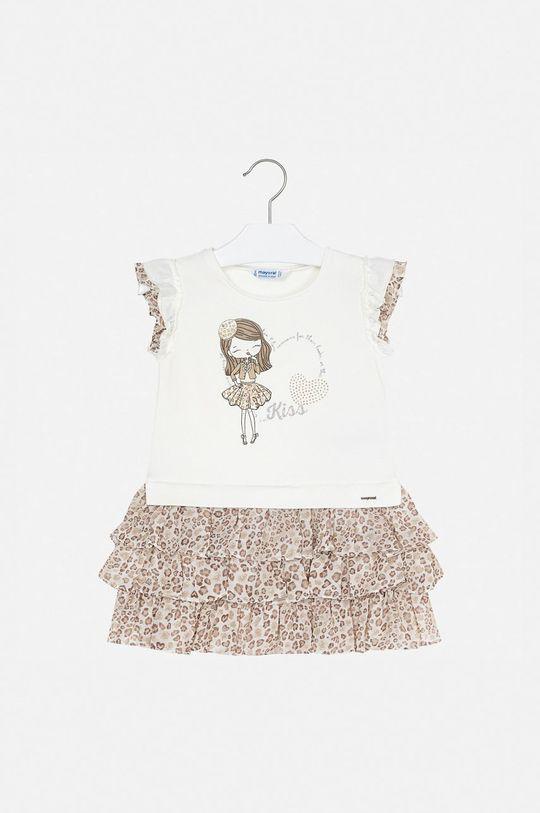 Mayoral - Dievčenské šaty 92-134 cm béžová