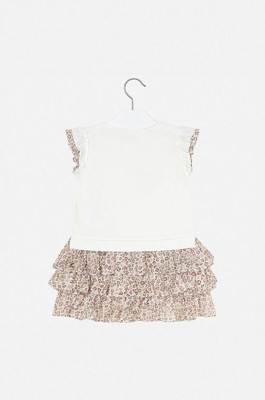 Mayoral - Dievčenské šaty 92-134 cm  57% Bavlna, 3% Elastan, 40% Polyester