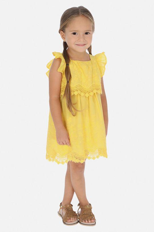 galben Mayoral - Rochie fete 92-134 cm De fete