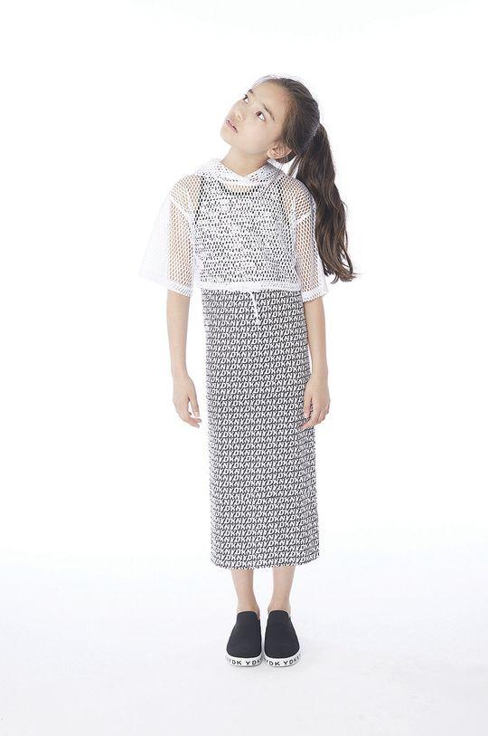 czarny Dkny - Sukienka dziecięca 152-158 cm Dziewczęcy