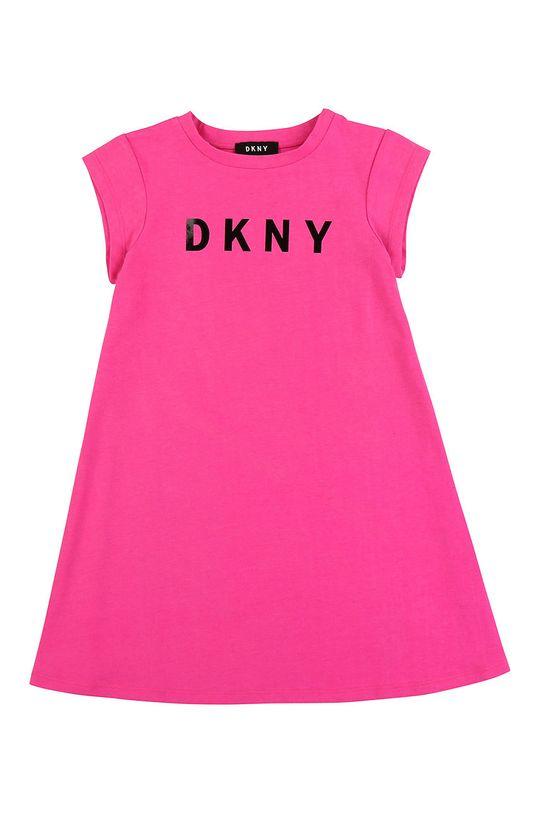 roz ascutit Dkny - Rochie fete 152-158 cm De fete