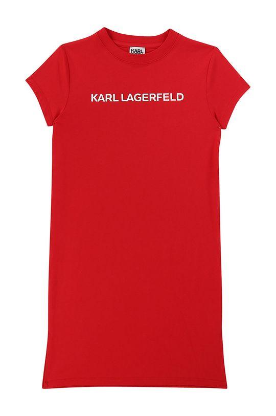 rosu Karl Lagerfeld - Rochie fete 114-150 cm De fete