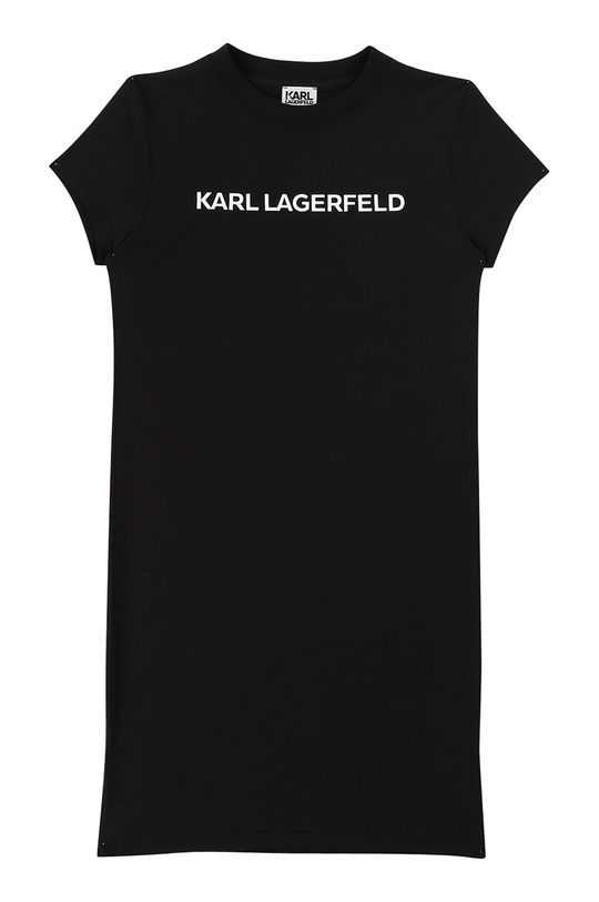 negru Karl Lagerfeld - Rochie fete 156-162 cm De fete