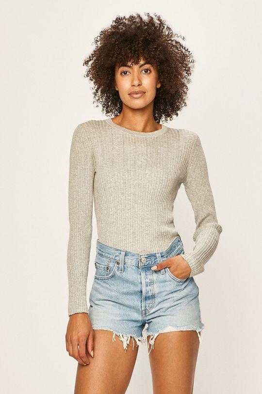 gri deschis Calvin Klein Jeans - Pulover De femei