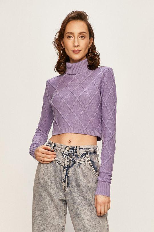 violet Pepe Jeans - Pulover Tiff x Dua Lipa De femei