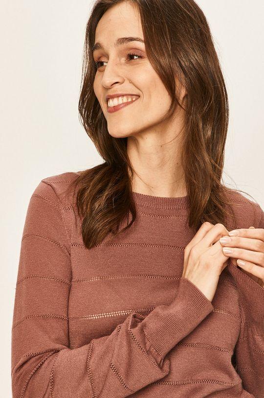 fiołkowo różowy Vero Moda - Sweter